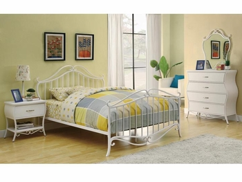 4 PC Bella Full Bedroom Set