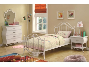 4 PC Bella Twin Bedroom Set