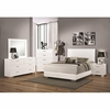 4 PC 203501 Felicity With Slat Styled Headboard Bedroom Set