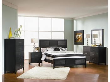 4 PC Grove Queen Bedroom Collection