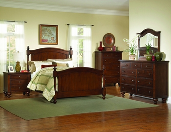 4PC Aris Queen Size Bedroom Collection