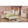 4PC Ashton Collection Full Bed with Framing Details