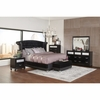 4PC Barzini Glamorous Upholstered Queen Bedroom set