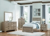 4PC Beechnut Twin size bedroom set