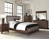 4PC Bingham Queen Upholstered Bed