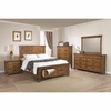 4PC Brenner Queen Storage Bed with Dovetail Drawers Bedroom Set