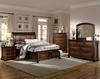 4PC Cumberland Platform Queen Size Bedroom Collection