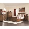 4pc Elk Grove Queen Sleigh Bedroom set with 2 Drawers