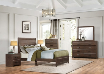4PC Erwan Queen Size Bedroom Collection