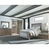 4PC Florence Upholstered Panel Queen Bedroom Set
