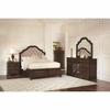 4PC Ilana Queen Storage Bed with Upholstered Bedroom Set