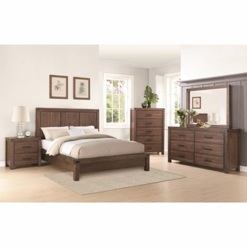 4PC Lancashire Queen Platform Bed