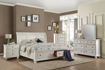 4PC Laurelin Platform Queen Size Bedroom Collection