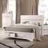 4PC Miranda Queen Storage Bed with 2 Dovetail Drawers Bedroom Set