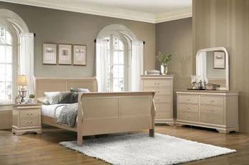 4PC Queen size bedroom set # 201131