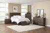 4PC Queen size bedroom set # 205121