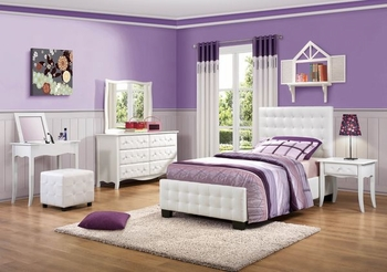 4PC Sparkle Bedroom Set