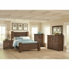 4PC Sutter Creek Queen Bed with Block Posts 204531Q Bedroom Set