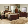 4PC Versailles Queen Bedroom Set