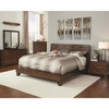 4PC Yorkshire Rustic Queen Bed with Contemporary Design bedroom set
