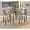 5 PC 10593 Metal Bar Table Set
