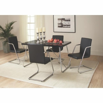 5 PC Avram Table and Chairs Set