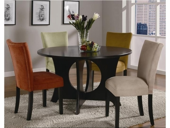 5 PC Castana Dining Set table and 4 side chairs