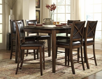 5 PC Counter Height Verona Set table and 4 stools