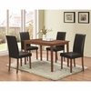 5 PC Dinettes Dining Set with Parsons Chairs
