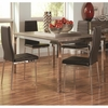 5 PC Eldridge Contemporary Table Set with Upholstered Chairs