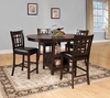 5 PC Junipero Counter height table and 4 Stools