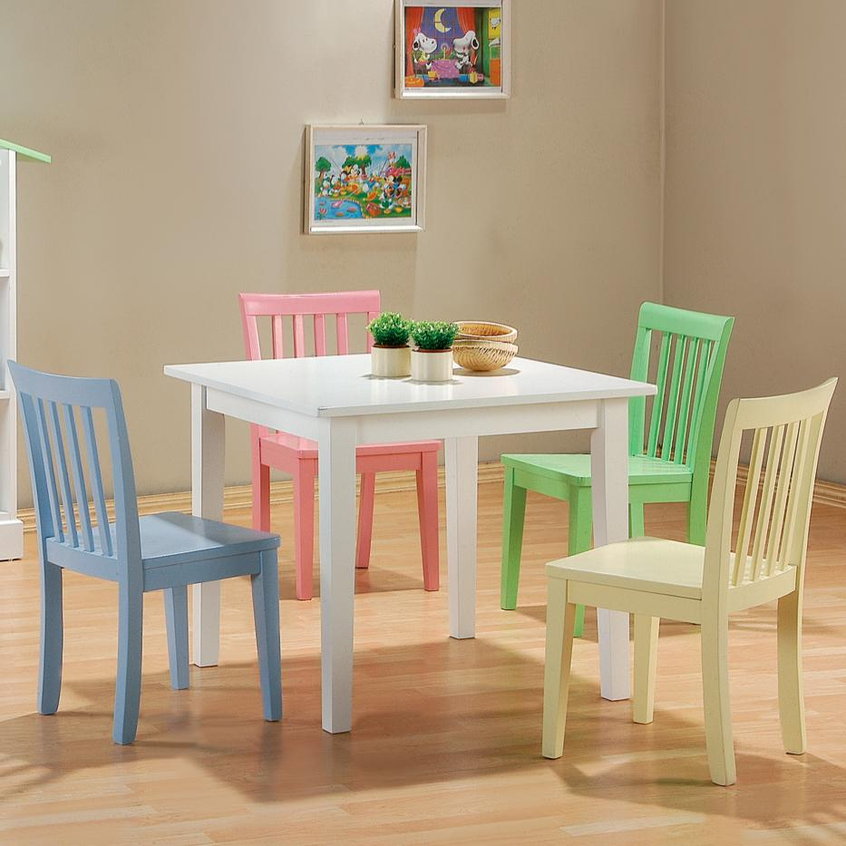 Delightful 5 PC Kinzie Youth Table And Chair Set