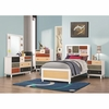 5 PC Lemoore Twin Multi-Color Bookcase Bedroom
