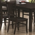 5 PC Marbrisa Dining Room Set 4 Side Chairs and Table