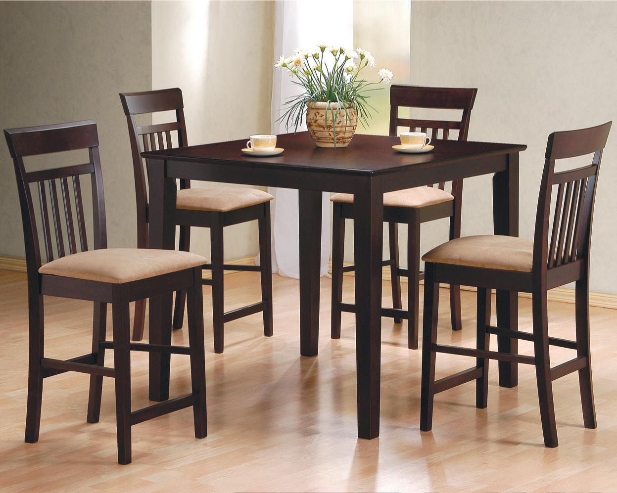Modern 5 Pc Counter Height Table And Stools Fairfax Va