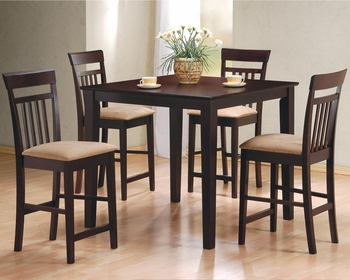 5 PC Mix & Match Counter Height Dining Set
