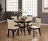 5 PC Round Dinette table and 4 chairs