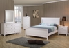 5 PC Selena full Sleigh Bedroom set with Panel Detail