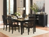 5 PC Three Falls Dining table and 4 Stools