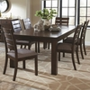 5 PC Wiltshire Rustic Table and Slat Back Chair Set