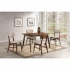 5 Piece Kersey Dining Set with Upholstered Side Chairs