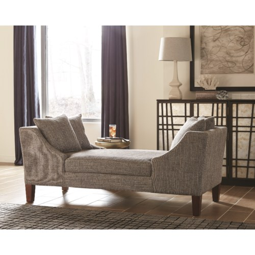 550117 Mid Century Modern Double Sided Chaise