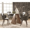 5PC Abbott Round Table and Chair Set