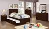 5PC Ashton Collection Full Bed with Framing Details with Trundle bedreoom set