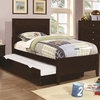 5PC Ashton Collection Twin Bed with Framing Details with Trundle bedroom set