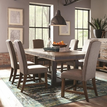 5PC Atwater Industrial Distressed Table and Chair Set by Scott Living