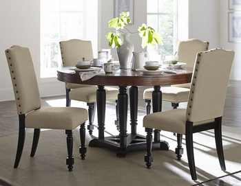 5PC BlossomWood Dining Set