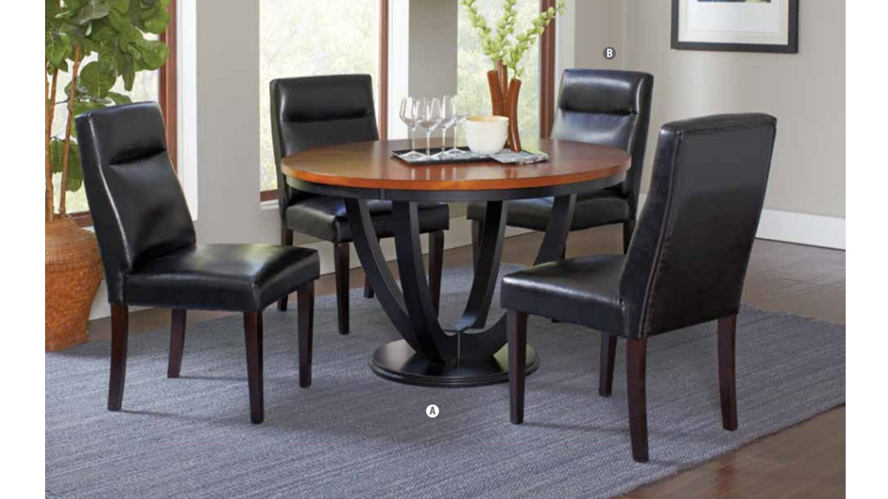 5PC Boyer Round Dining Collection