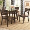 5PC Byron Table and Chair Set with 4 Side Chairs