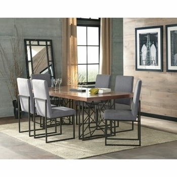5PC Chancelor Modern Table and Chair Set
